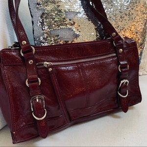 RELIC Deep Burgundy Purse Shoulder Bag Fall Trend